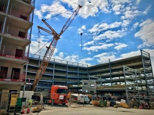 Northgate car park under construction