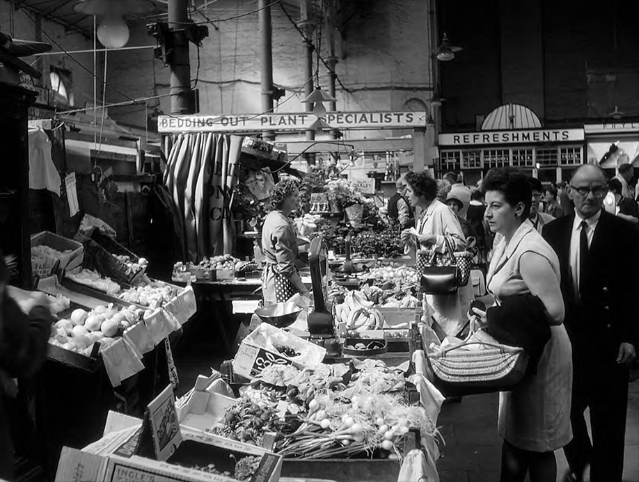 Chester's market in the 1960s